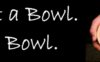 Paint a bowl, fill a bowl for Empty Bowls
